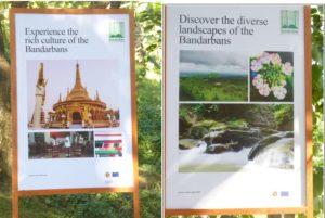 Développement de stations touristiques dans les Bandarbans